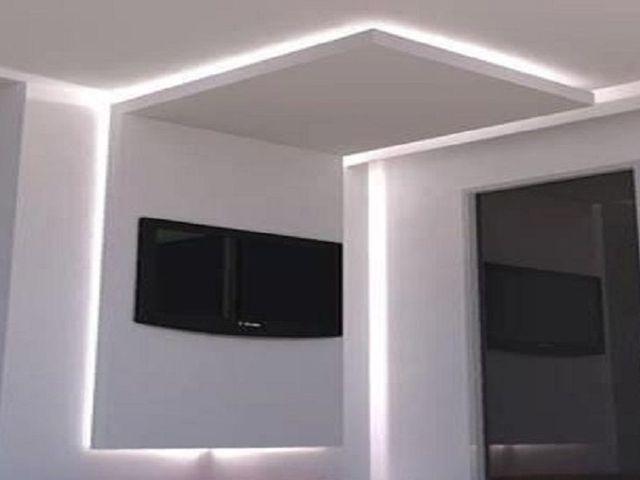 falso techo luz indirecta